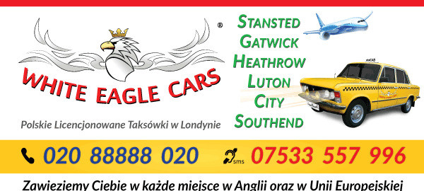 Transport na / z Lotniska w Londynie – Stansted, Luton, Gatwick, Heathrow..